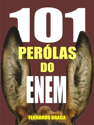 cover image of 101 Pérolas do enem
